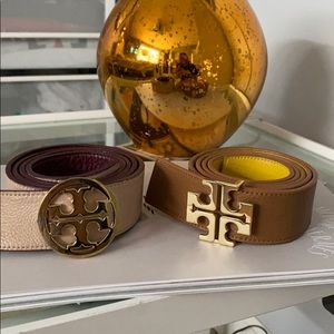 Reversible Tory Burch Belts!Each $150 or both $250